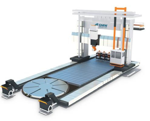 Potrtalfräsmaschine DGBW animiert