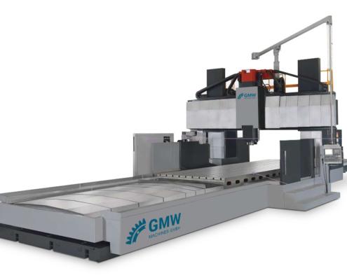 Portalfräsmaschine GRV mit verfahrbarem Tisch