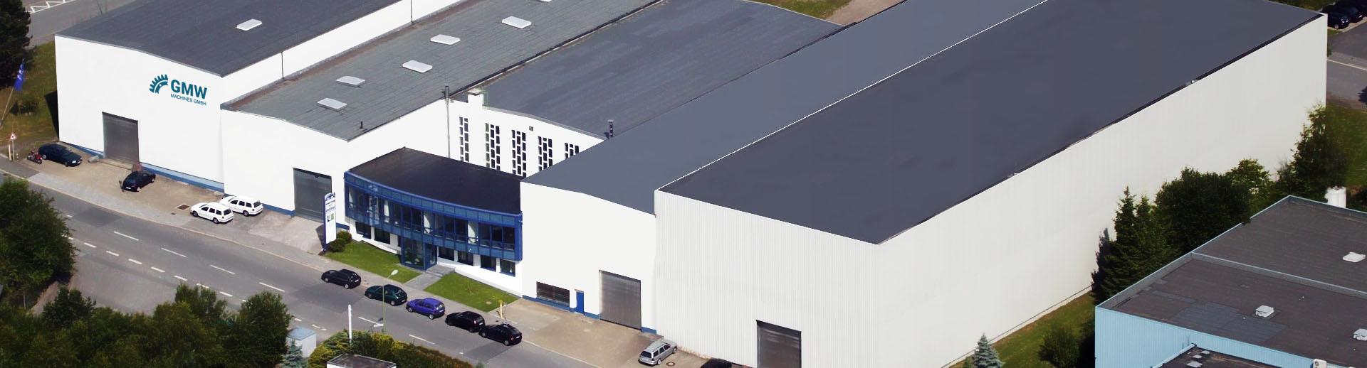 Luftaufnahme Unternehmensgebäude GMW