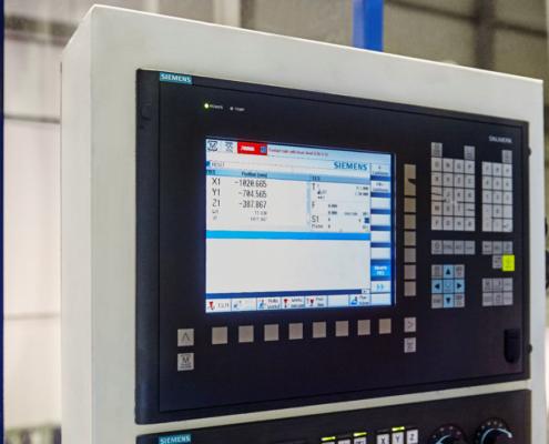 Tischbohrwerk Anwendung Siemens