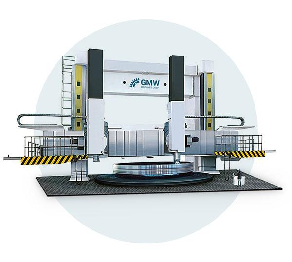 Vertikale Drehmaschine GMW